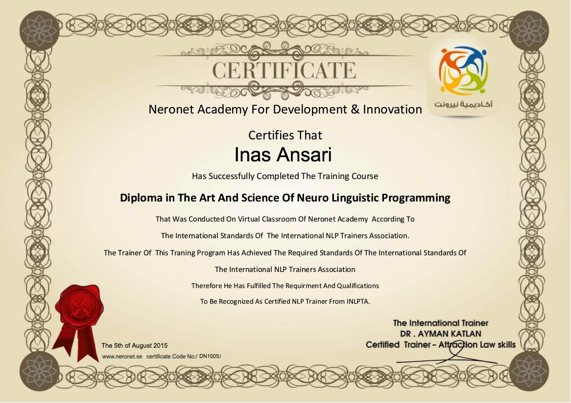 DN1005 Inas Ansari