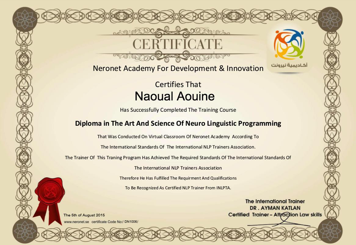 DN1006 AOUINE Naoual