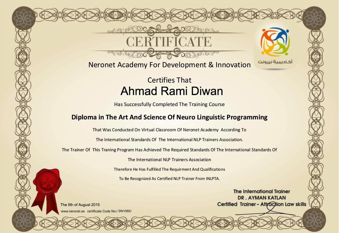 DN1055 Ahmad Rami Diwan