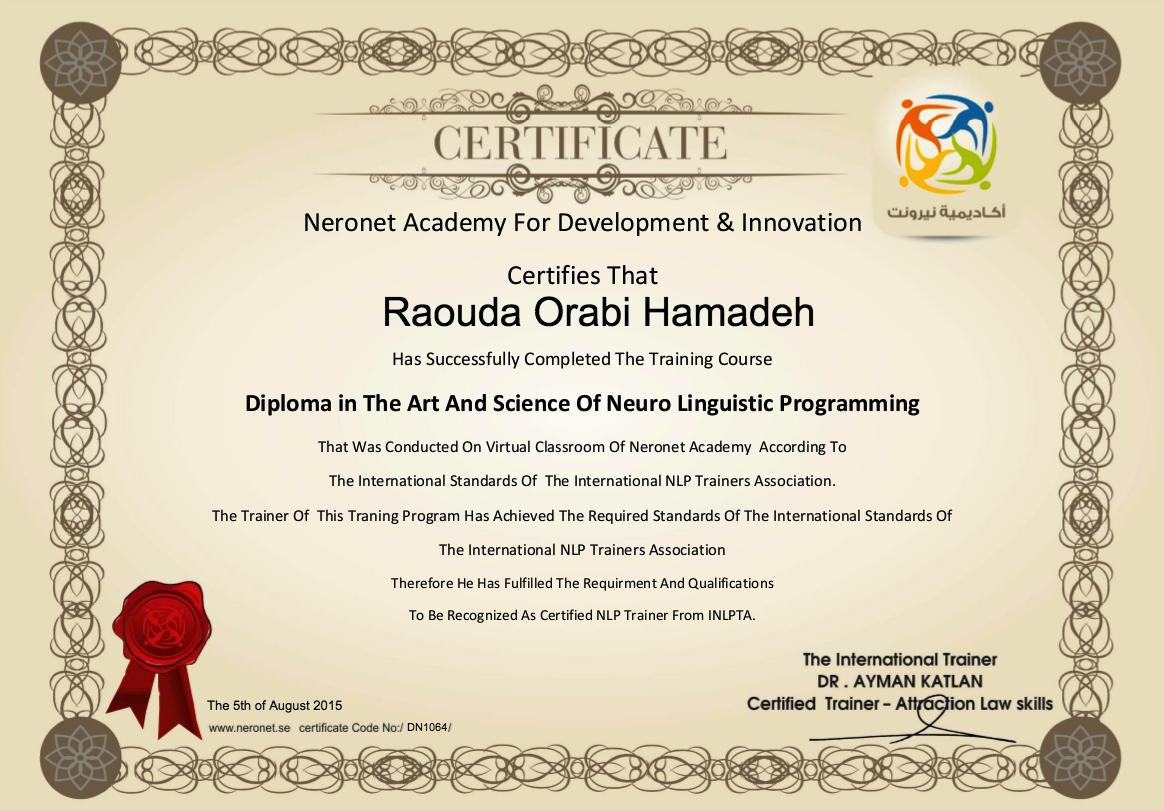 DN1064 Raouda Orabi Hamadeh