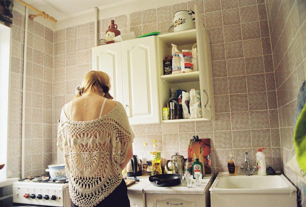 قم بتجربة الدخول إلى المطبخ