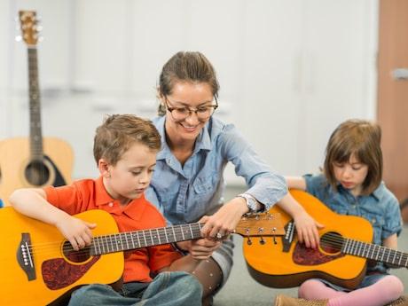 تطوير القوة الفردية للأطفال
