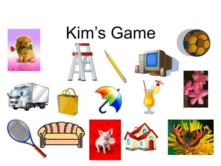 لعبة كيم