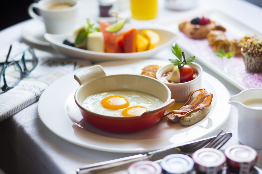 وجبة الإفطار