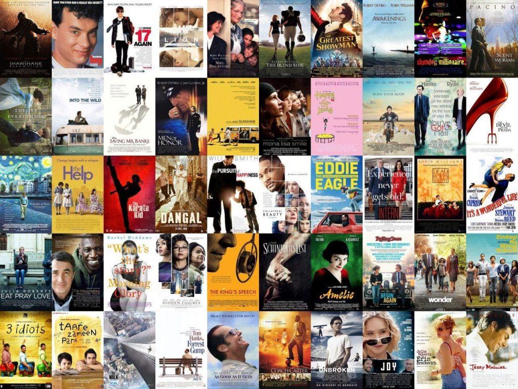 positive films أفضل مجموعة من أفلام الطاقة الايجابية والتحفيزية