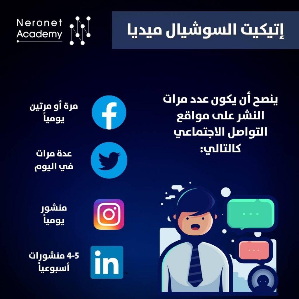 social media netiquitte قواعد وإتيكيت التواصل الاجتماعي